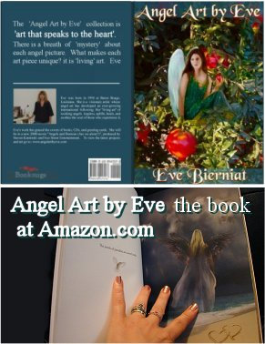 Angel Art by Eve Book